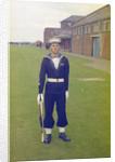 Portrait of Ken Jones, HMS Ganges by Reginald Arthur Fisk