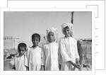 Kuwaiti boys by Alan Villiers