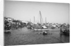 The dhow harbour, Mombasa by Alan Villiers