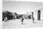 Kuwaiti street scene by Alan Villiers