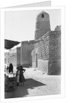 Mosque and street scene, Kuwait by Alan Villiers