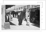 The bazaar or suq, Kuwait by Alan Villiers