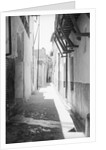 Picturesque street in Lamu by Alan Villiers
