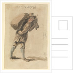 Man carrying a sack by Gabriel Bray