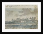 A view of a Dutch fort taken from the Pallas whe[n] passing it supposed to be Artez [Anzer] [Bray album] by Gabriel Bray