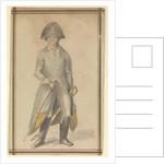 Male figure in military uniform by Gabriel Bray