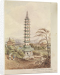 The Porcelain Tower at Nankin [Nanjing, China] by James Henry Butt