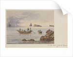 View of rocks and islets off Sotome (Nagasaki), Japan by James Henry Butt