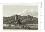 Possibly Cook exploring a small island with natives looking on by William Alexander