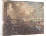 Greenwich Hospital on a Bank Holiday by Frank William Brangwyn