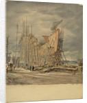 Shipbuilding by Henry Rushbury
