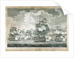View of the British Fleet under the command of Admiral Duncan by John Fairburn