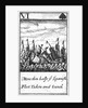 1588 Armada Playing Cards, VI of Spades. 'More then halfe ye Spanish Fleet Taken and Sunck' by unknown