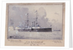 HMS 'Canopus' launched at Portsmouth 13 October 1897 by H. Coish