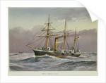 Sloop HMS 'Nymphe' under way by unknown