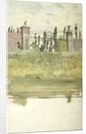 The Gates to a Garden or Cemetery by William Lionel Wyllie