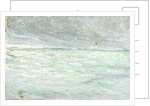 Study of Sea and Sky with a Distant Sailing Ship by William Lionel Wyllie