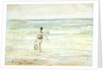 Study of a figure at the water by William Lionel Wyllie