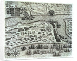 Francis Drake's attack on St Augustine, 1586 by unknown