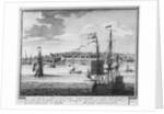 Nieu Amsterdam, een stedeken in Noord Amerikaes. Nieu Hollant op het eilant Mankattan: namaels Nieu Jork genaemt, toen het geraekte in't gebiet der Engelschen' by Peter Schenk
