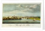 A prospect of the Moro Castle and city of Havana from sea by Office