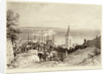 View from Clifton, Guernsey by Louis Haghe