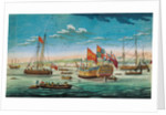 A view of His Majesty's dockyard at Chatham by John Cleveley