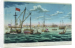 A view of His Majesty's dockyYard at Portsmouth, in the county of Hampshire, on the British Channel by John Cleveley