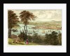 Devonport & the Hamoaze from Mount Edgecumbe. Six Views of the Picturesque Scenery of Plymouth by Newman & Co