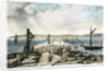 Breakwater towards the west by G.R. Sartorius