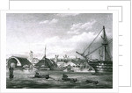 The Duchess of Kent and The Princess Victoria at Devonport dockyard, Plymouth, 1833 by unknown