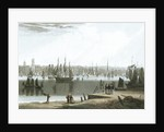 Liverpool, taken from the opposite side of the River by William Daniell