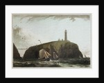 Lighthouse on the South Stack, Holyhead by William Daniell