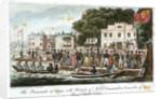 The promenade at Cowes by Robert Cruikshank