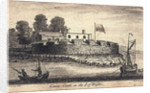 Cowes Castle in the Isle of Wight by J Armstrong