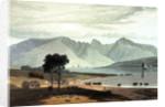 The Isle of Arran, taken near Ardrossan by William Daniell