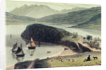 Portree on the Isle of Skye by William Daniell