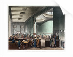 Lloyd's subscription room by Thomas Rowlandson