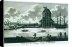 View of Mr Perry's Dock at Blackwall by unknown