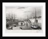 London Docks, looking west by Jones & Co