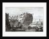Ship Breaking opposite Wapping by Longman & Co