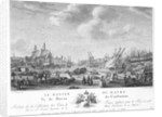 The port basin of Le Havre by Nicolas Marie Ozanne