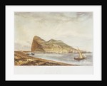 Gibraltar. From the ruins of Fort St Philip by H. A. West