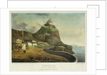 Gibraltar. Governor's Cottage, Europa by H.A. West