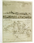 View of Cadiz in Spain from the west by J. Cary