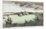 View of Surat, East India by Raspischen