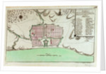 Plan of Pondicheri by unknown