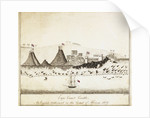 Cape Coast Castle - An English settlement on the coast of Africa 1828 by C. Jones
