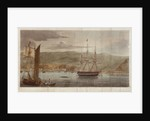 View of the harbour and town of Valparaiso by J. Searle