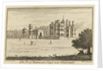 The Duke of Richmonds House near Blackheath [Vanbrugh Castle] by J.Armstrong Armstrong